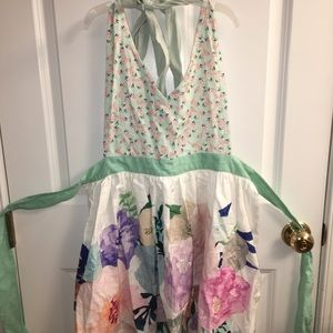 Anthropologie apron new without tags